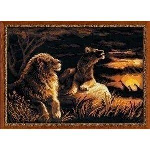Riolis Riolis Lions in the Savannah 1142