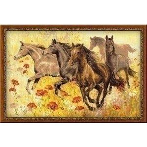 Riolis Riolis borduurpakket Paarden 1064