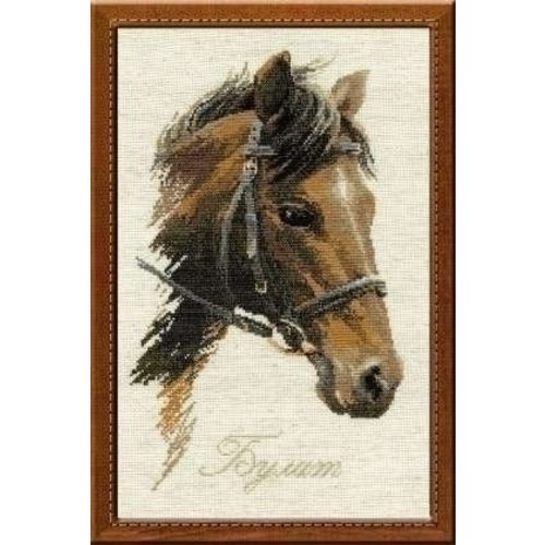 Riolis Riolis borduurpakket Paard Bulat 826