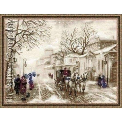 Riolis Riolis borduurpakket Old street 1400