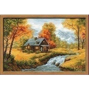 Riolis Riolis borduurpakket Autumnal View 1079