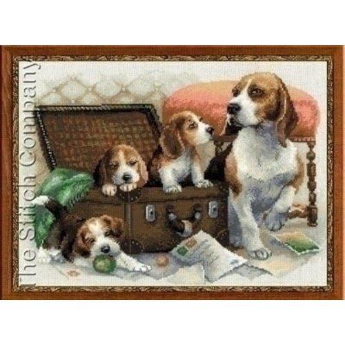Riolis Riolis borduurpakket Canine Family 1328