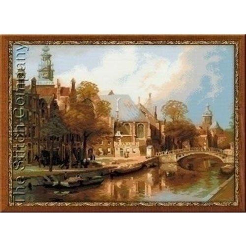 Riolis Borduurpakket Amsterdam The Old Church 1189