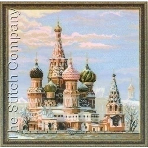Riolis Borduurpakket Moscow St Basils Cathedral 1260