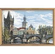 Riolis Riolis borduurpakket Praag Charles Bridge 1058