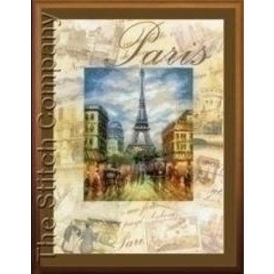 Riolis Riolis borduurpakket Parijs PT0018