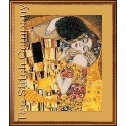 Riolis Riolis borduurpakket The Kiss, Klimt 1170