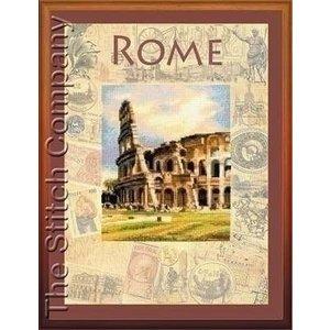 Riolis Riolis borduurpakket Cities of the World Rome 0026