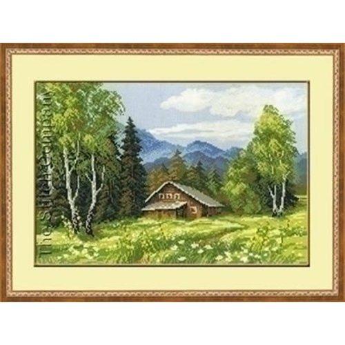 Riolis Riolis borduurpakket Swiss Cottage 1051