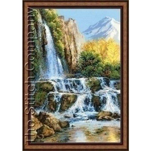 Riolis Riolis Landscape with Waterfall 1194