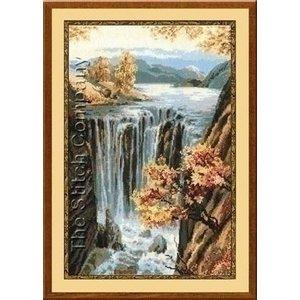 Riolis Riolis borduurpakket Waterfall 0974