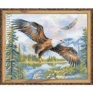 Riolis Riolis borduurpakket Free Fall 1471