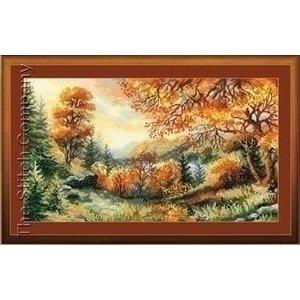 Riolis Riolis borduurpakket Crimson Autumn 1314
