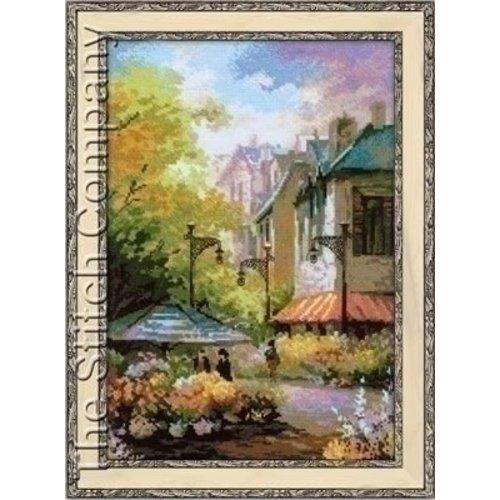 Riolis Riolis borduurpakket Flower Street 1306