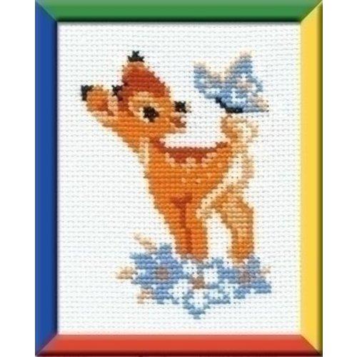 Riolis Riolis borduurpakket Bambi ri-0210