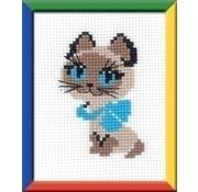 Riolis Riolis borduurpakket Kitten ri-0462