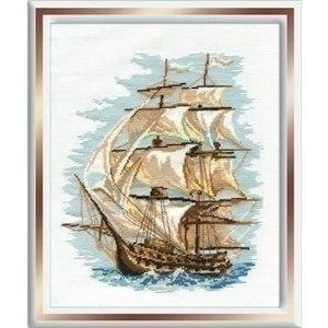 Riolis Riolis borduurpakket Ship ri-0479