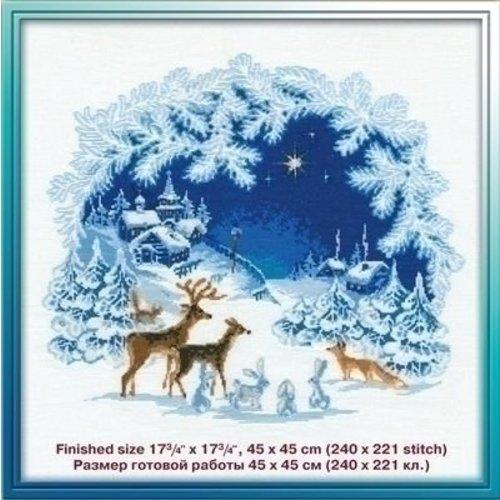 Riolis Riolis borduurpakket Christmas ri-0793