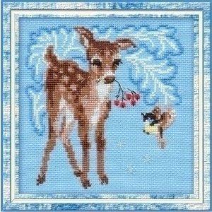 Riolis Riolis borduurpakket Young Deer ri-0796