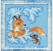 Riolis Riolis borduurpakket Fox Cub ri-0797