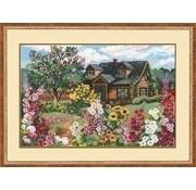 Riolis Riolis borduurpakket Flowering Garden ri-0978