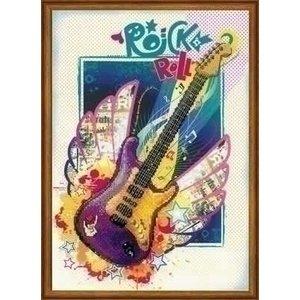 Riolis Riolis borduurpakket Rock 'n' Roll ri-pt0042