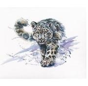RTO borduurpakket Snow Leopard m00677