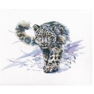 RTO RTO borduurpakket Snow Leopard m00677