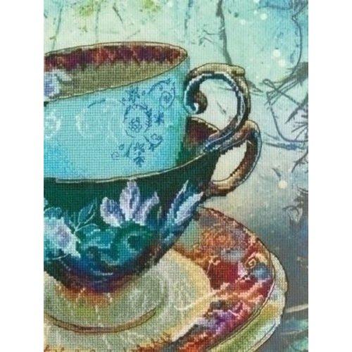 RTO RTO borduurpakket Antique Porcelain m70021