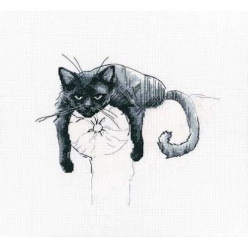 RTO RTO borduurpakket Among Black Cats m00666