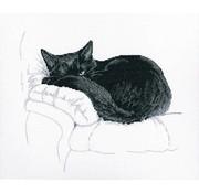RTO borduurpakket Among Black Cats m00668