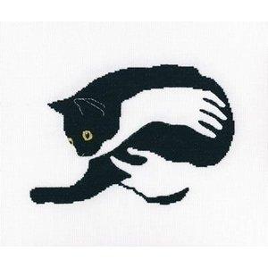 RTO RTO borduurpakket Among Black Cats m00669