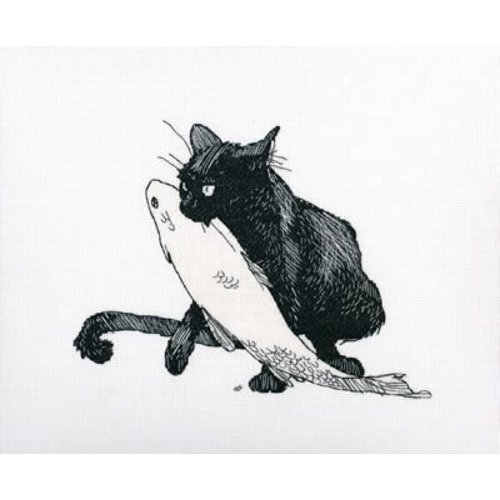 RTO RTO borduurpakket Among Black Cats m00665