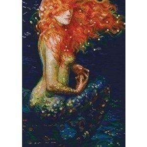 RTO RTO borduurpakket Red Mermaid m00596