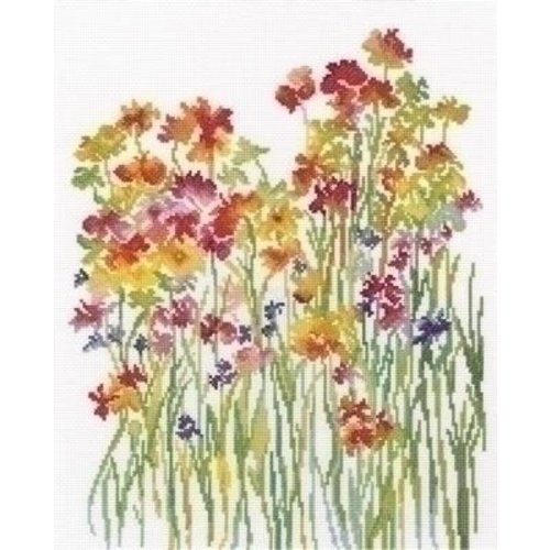 RTO RTO borduurpakket Flower Watercolour rto-m00581