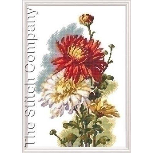 RTO RTO borduurpakket Chrysanthemum 516