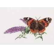 Borduurpakket vlinder Atalanta 436A