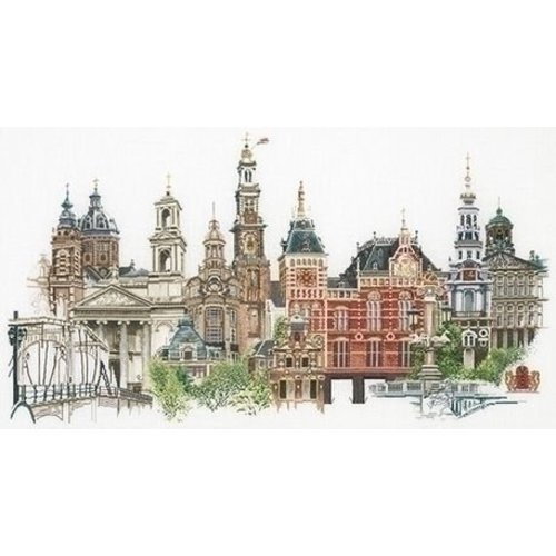 Thea Gouverneur Thea Gouverneur borduurpakket Amsterdam 450A