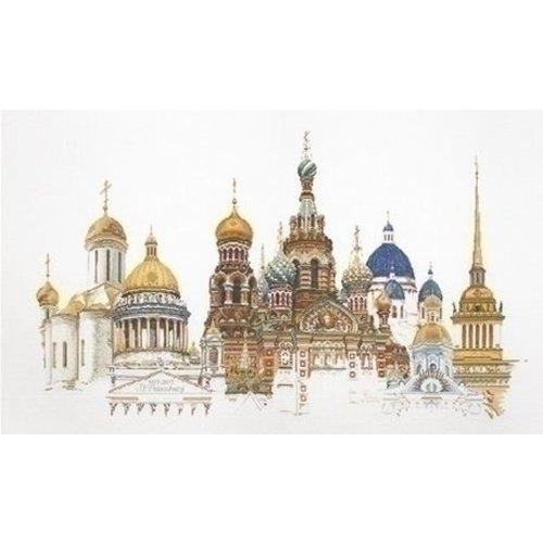 Thea Gouverneur Thea Gouverneur borduurpakket St Petersburg 430A