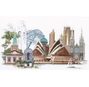 Thea Gouverneur borduurpakket Sydney 480A