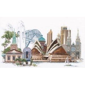 Thea Gouverneur Thea Gouverneur borduurpakket Sydney 480A