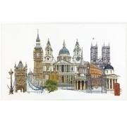 Thea Gouverneur borduurpakket Londen 470A