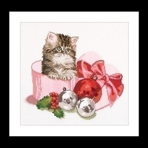 Thea Gouverneur Thea Gouverneur Christmas Kitten 731A
