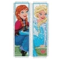 Vervaco Frozen bladwijzers Anna en Elsa 0168474