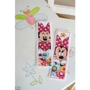 Vervaco Disney bladwijzer Minnie dagdroomt 2 st. 0168651