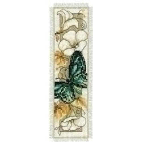 Vervaco Boekenlegger Vlinders en Bloemen 0145351