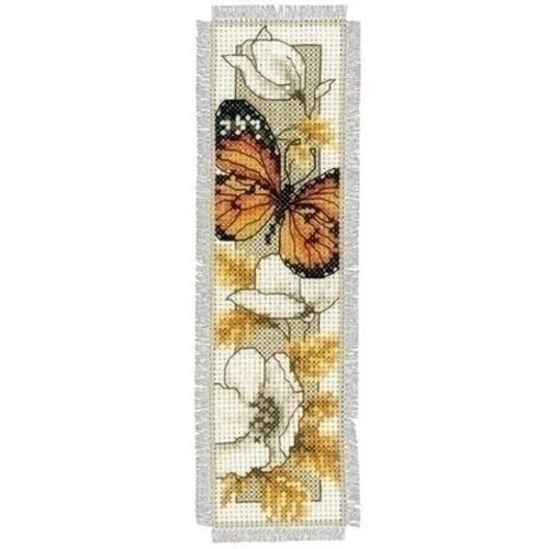 Vervaco Boekenlegger vlinder en bloem 0145352