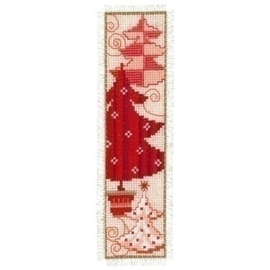 Vervaco Borduren boekenlegger Kerst 0021863