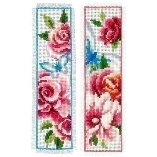 Vervaco Vervaco bladwijzers bloemen en vlinders 0150899
