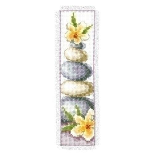 Vervaco Vervaco Boekenlegger keien en bloemen 0143910